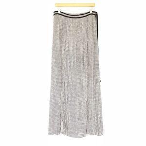 Honey Belle Boho Maxi Skirt w/Leg Slits Gold